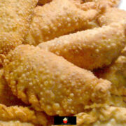 Tasty Empanadas. These tasty empanadas are homemade Argentinian street food snacks made of crispy homemade pastry filled with beef. Great party food. Easy recipe and so popular!