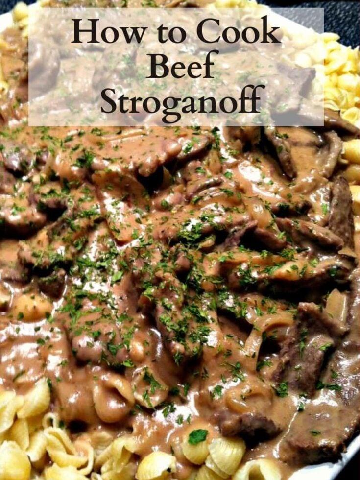 Beef Stroganoff H