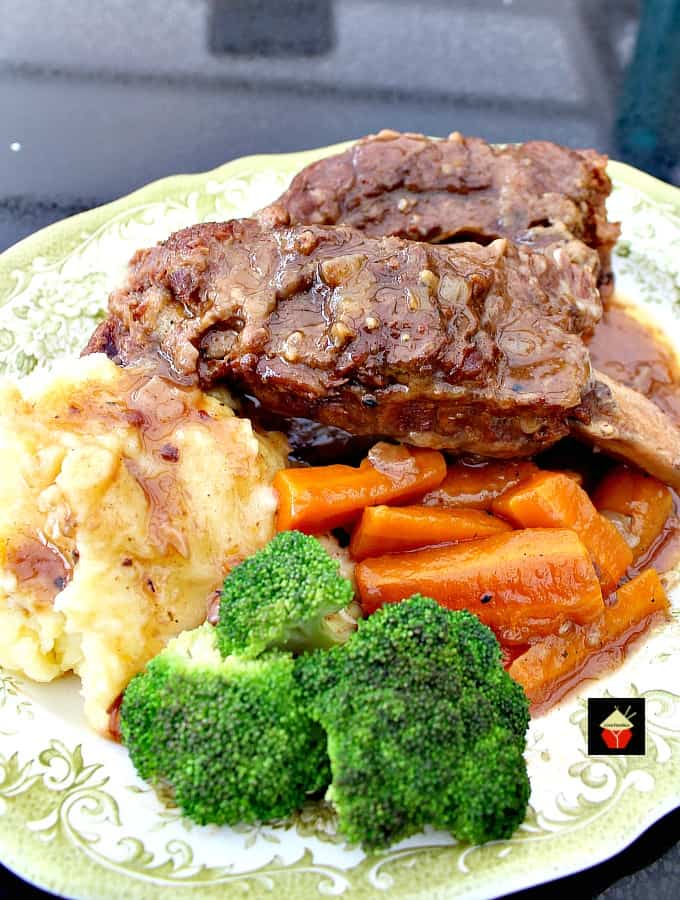 Best Ever Slow Cooker Beef Ribs. Fall off the bone, tender pieces of beef slow cooked in a delicious sauce and simply melts in your mouth. The flavor is amazing!