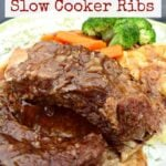 Best Ever Slow Cooker Beef Ribs