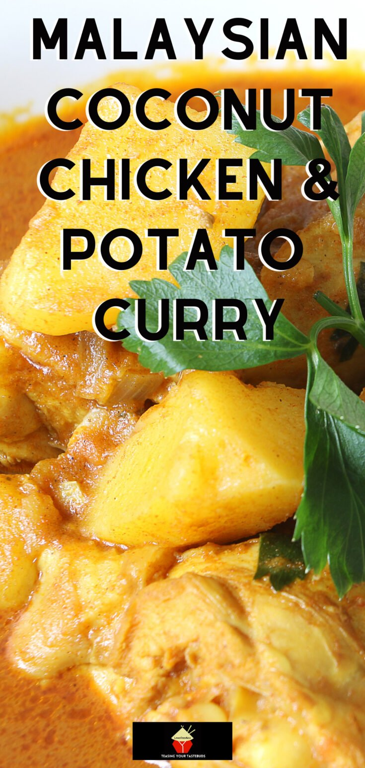Malaysian Coconut Chicken and Potato CurryP2