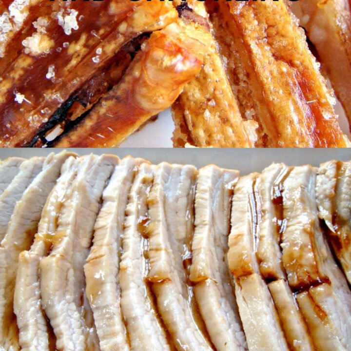 Roast Pork and Crackling, let me show you the easy trick to getting a nice crispy crackling PLUS tender juicy meat! Cook times for roasting pork. This is an easy step-by-step guide to show you how to roast a joint of pork, perfect for a Sunday Roast dinner!