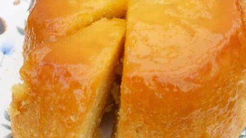 Delicious Steamed Lemon Cake