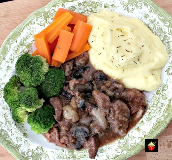 Old Fashioned Slow Cooked Liver, Bacon and Onions. Meltingly soft, tender pieces of liver cooked in a delicious onion gravy with the bonus of bacon thrown in too! Options to use stove top, slow cooker or oven, pressure cooker, multi cooker, Instantpot too!.