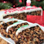 Cranberry and Pecan Christmas Cake, loaded with delicious fruits and Spiced Rum. A perfect treat for Christmas.