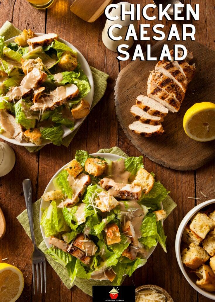 Chicken Caesar SaladH