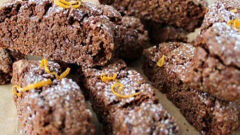 Double Chocolate and Orange Biscotti