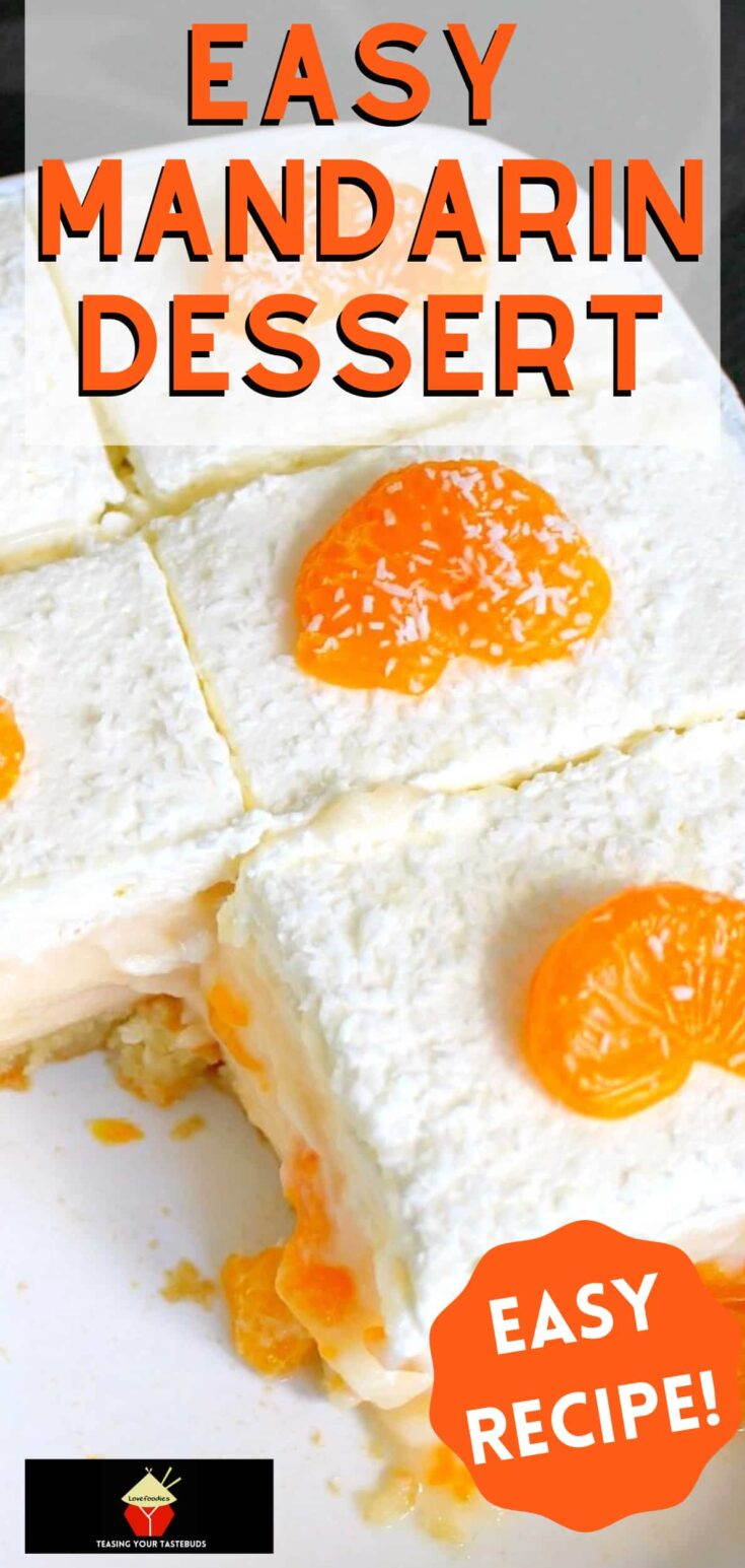 Easy Mandarin DessertP2