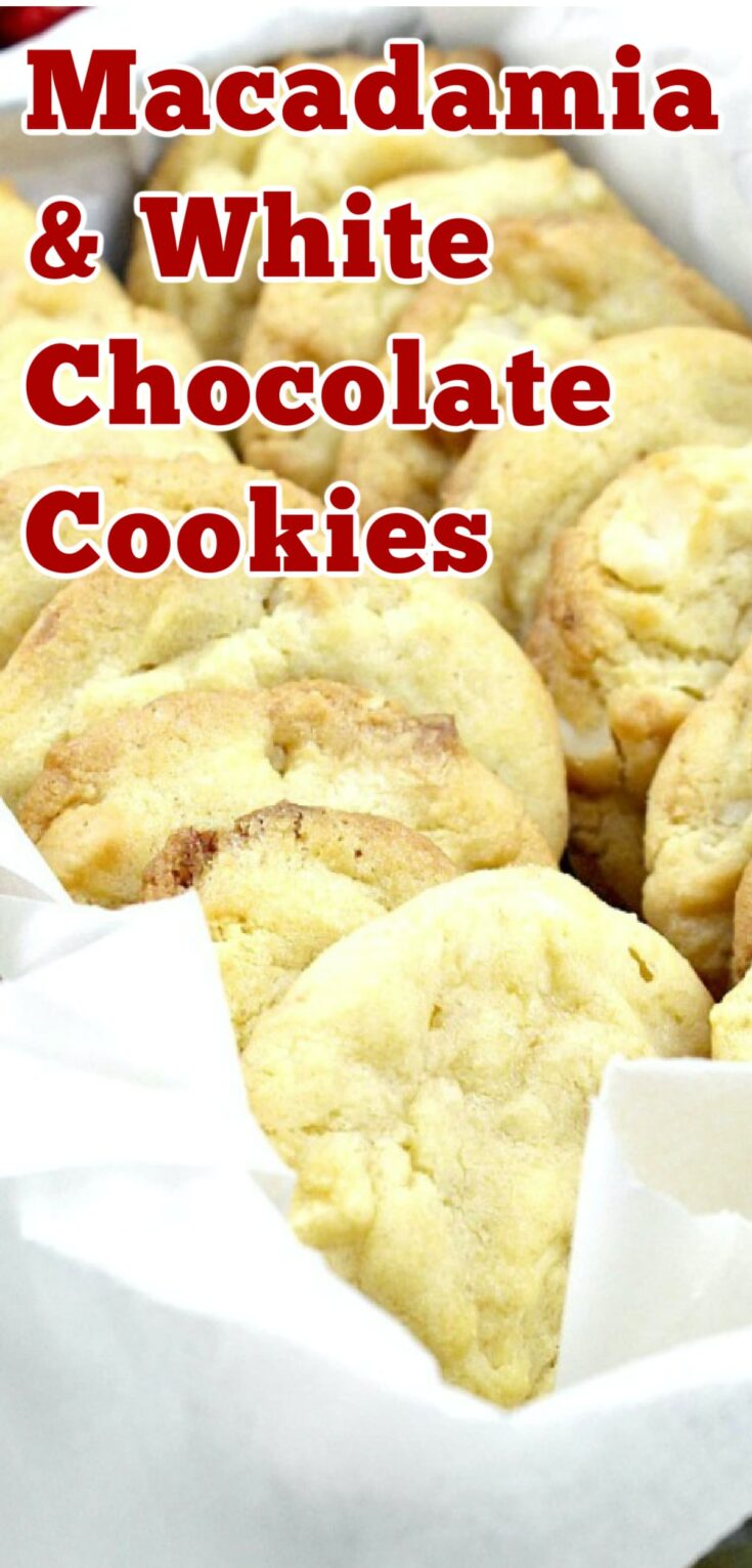 Macadamia and White Chocolate CookiesP1