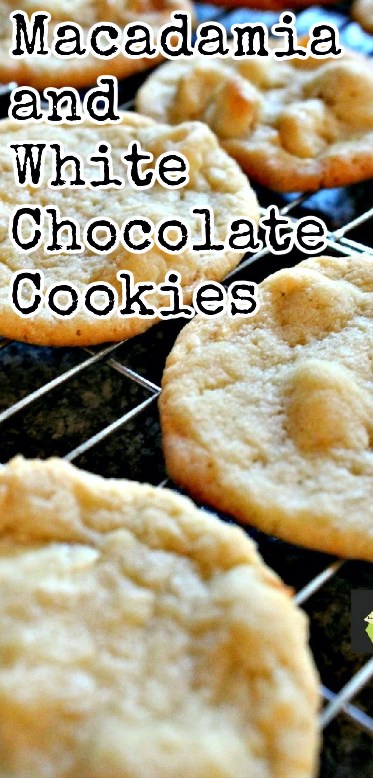 Macadamia and White Chocolate Cookies. Perfect with a cup of tea or glass of milk! A very easy cookie recipe.