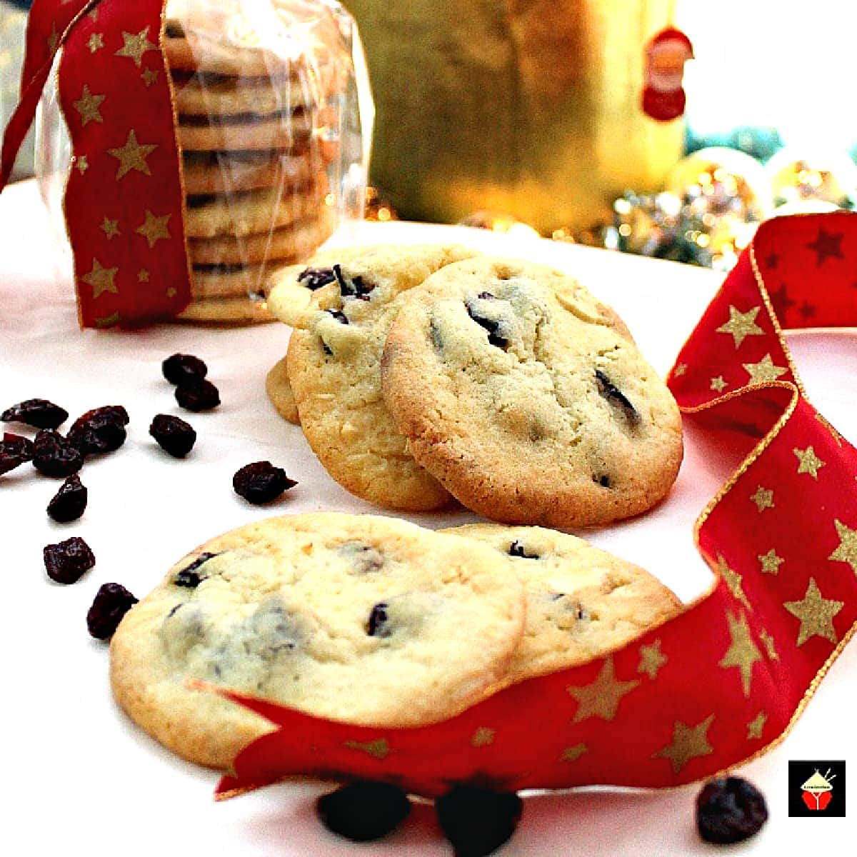 Cranberry and White Chocolate CookiesF
