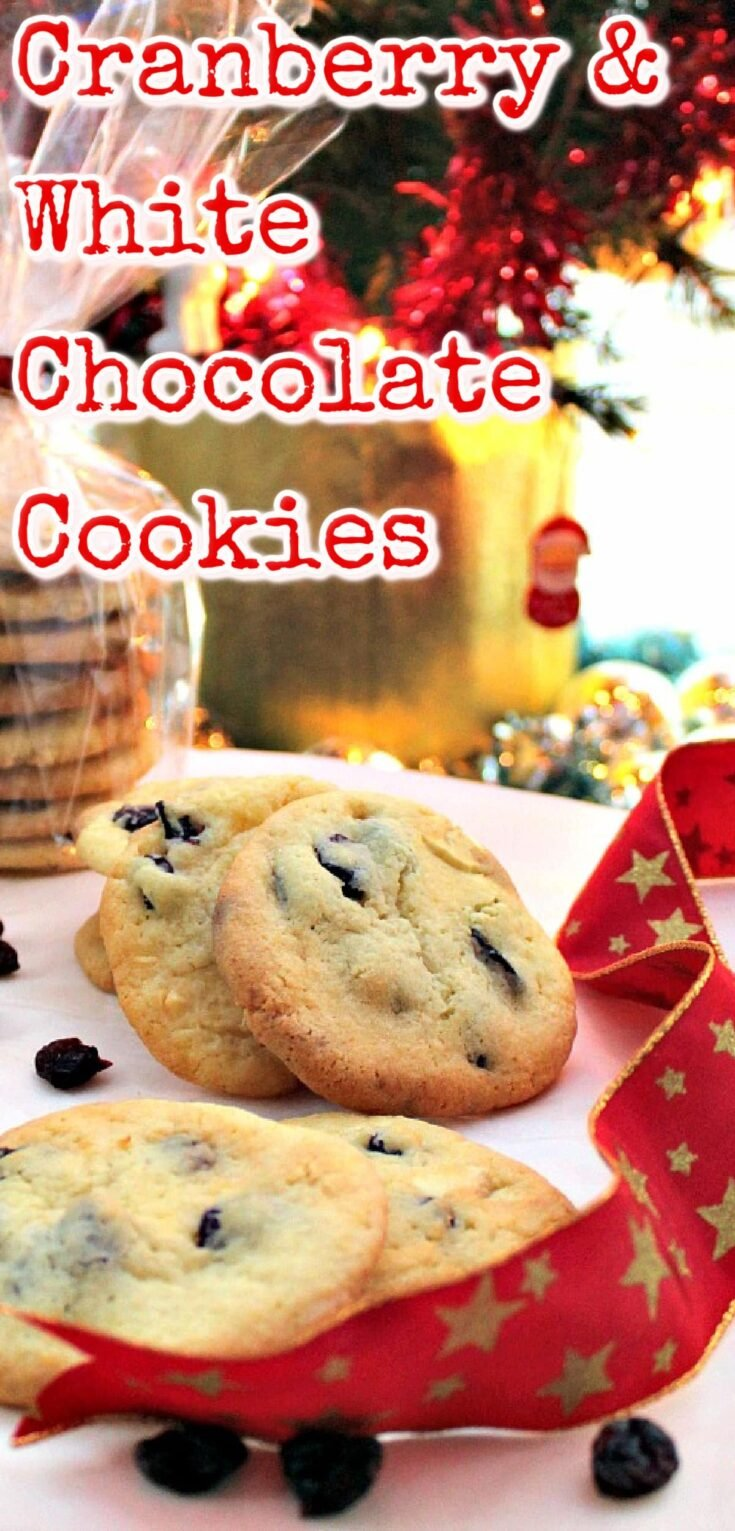 Cranberry and White Chocolate CookiesP1
