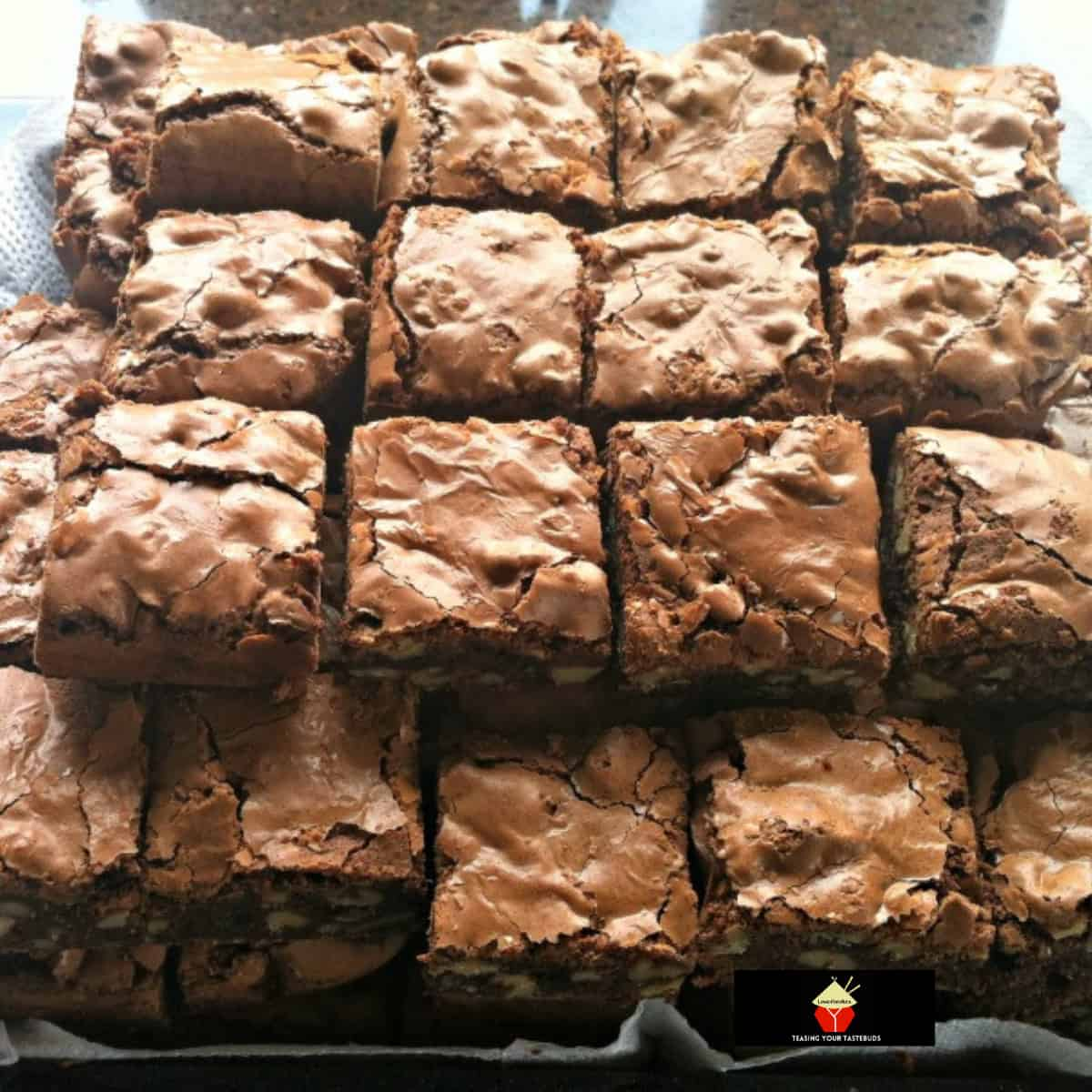 Oh So Good Brownies. Seriously, I have NEVER EVER tasted brownies like these before! They are awesome!