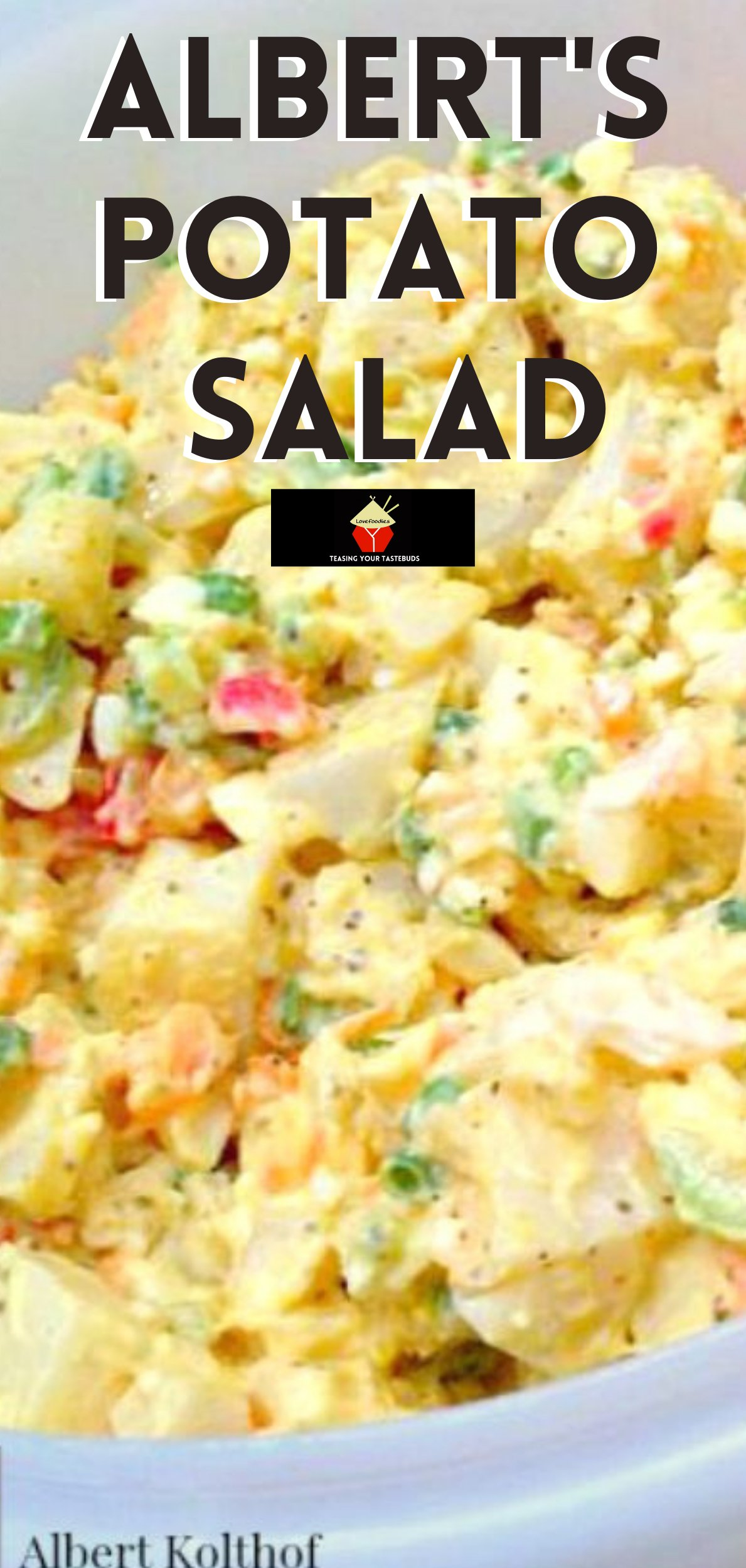 Albert's Potato Salad, Oh this is good! A delicious creamy salad with heaps of flavor. Quick and Easy to make and great for parties!
