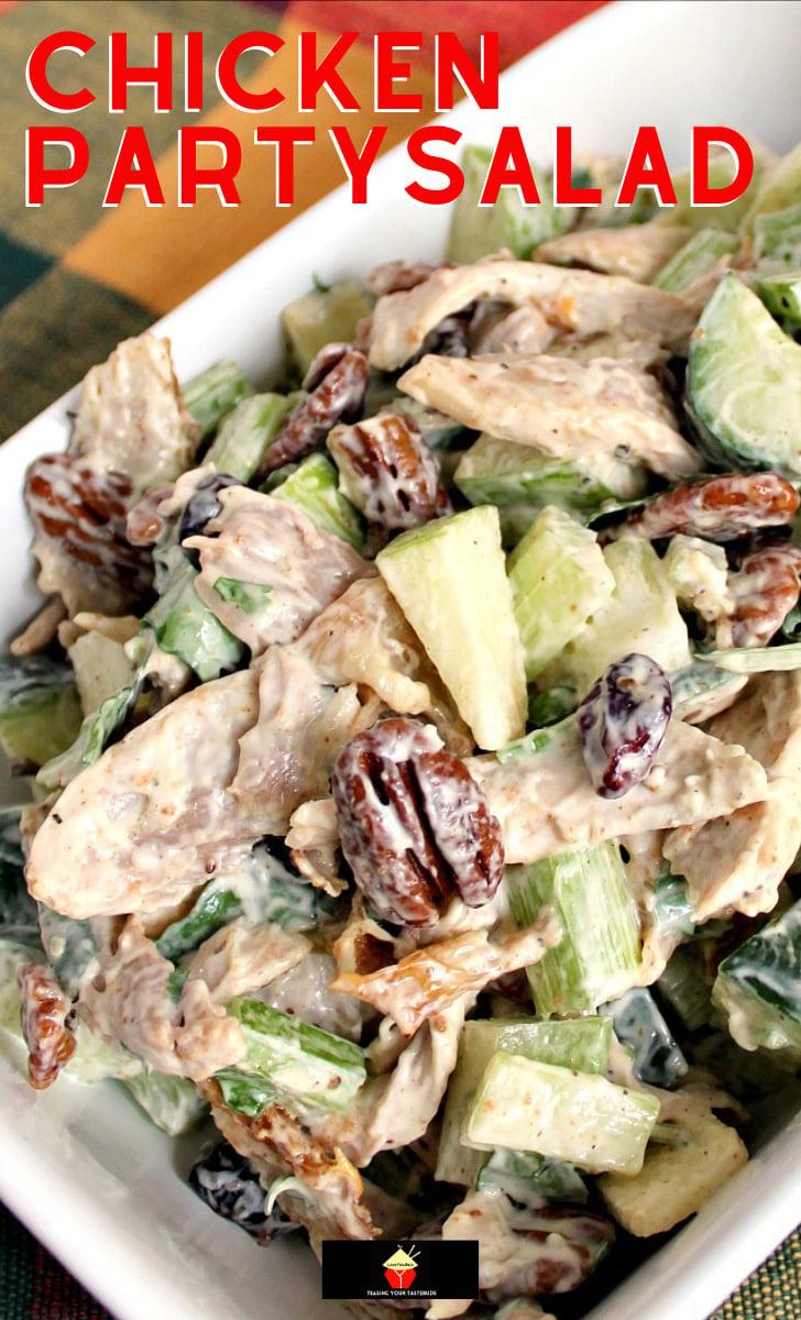 Chicken Party SaladH