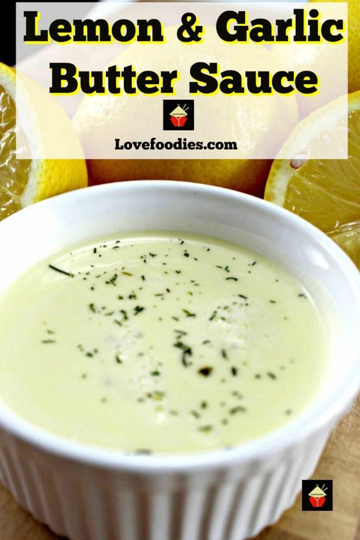 Lemon Garlic Butter Sauce P