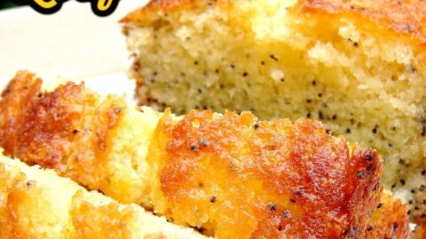 Lemon and Poppy Seed Loaf. This is truly a delightful cake. The flavors are gentle, the cake is soft and moist and of course looks so pretty with the addition of poppy seeds sprinkled throughout the cake