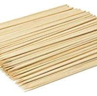 Barbecue Skewers, Used for Barbecuing Meat, Poultry, Seafood, Vegetables, Cheese, Fruit. (8 Inch - 200 Pcs)
