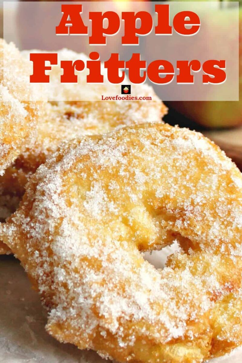 Delicious apple rings in a crispy light batter, coated in cinnamon sugar. Serve warm with a drizzle of syrup or ice cream. A perfect, quick & easy dessert