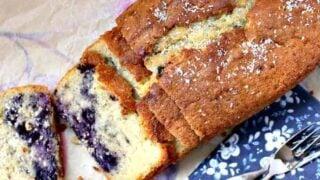 Blueberry Coconut Pound Cake