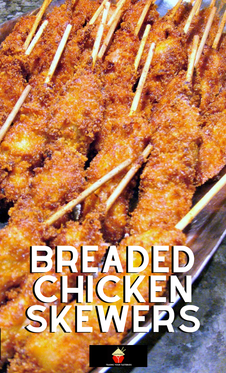 Breaded Chicken SkewersH