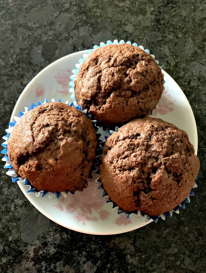 Nanny's Best Chocolate Brownie Muffins are simply yummy! It's an easy recipe and perfect for chocolate lovers! Freezer friendly too!