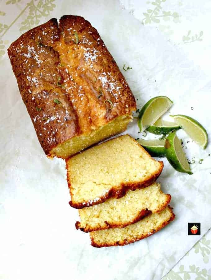 Coconut and Lime Pound Cake5 1