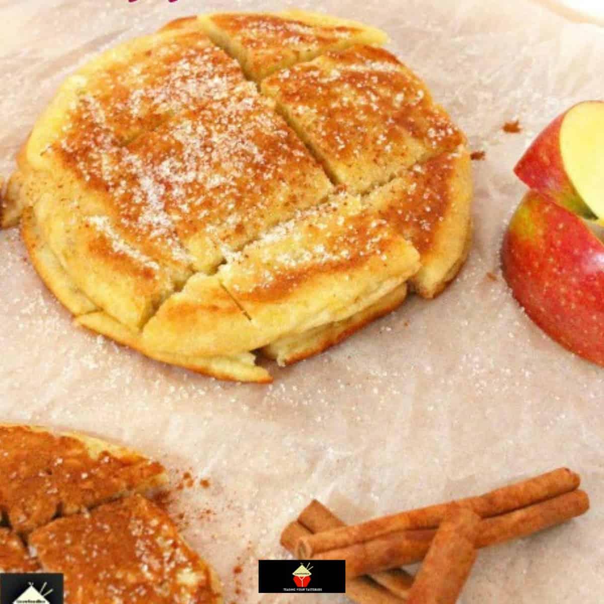 German Style Fluffy Apple PancakesF