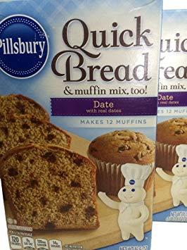 Pillsbury Date Quick Bread 16.6oz 2pks