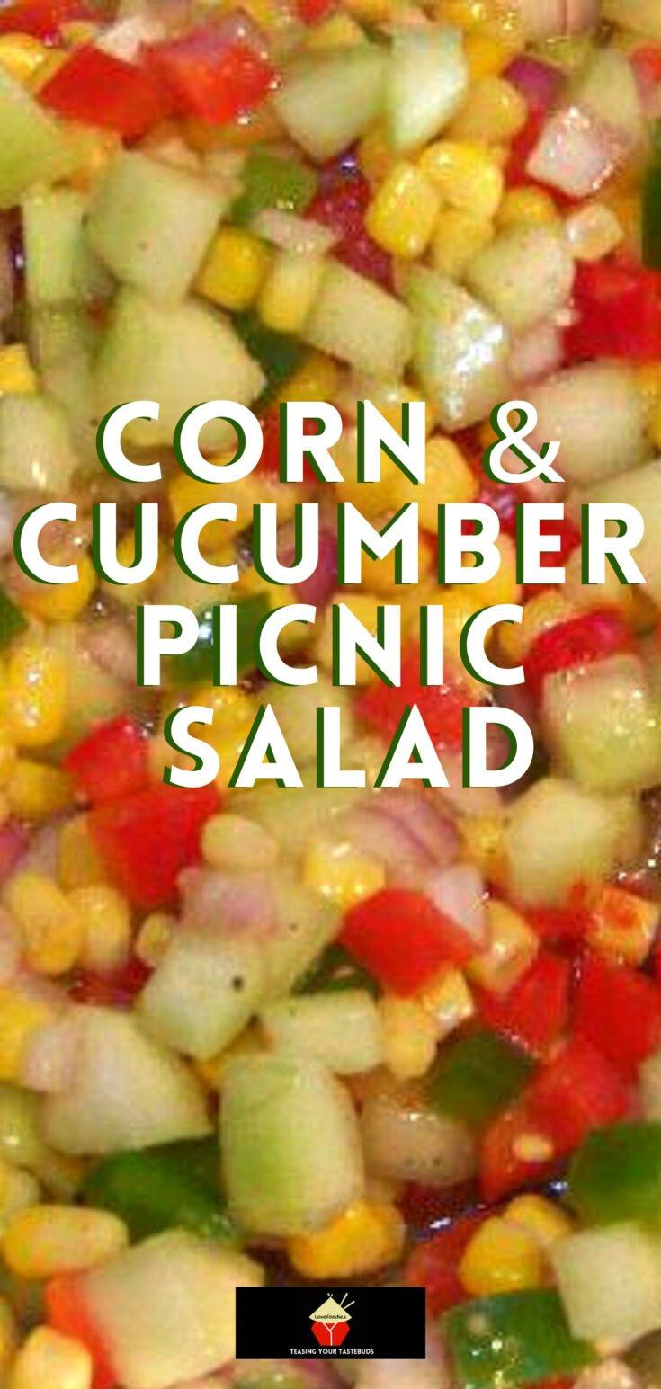 Corn Cucumber Picnic SaladP2
