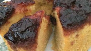 Delicious Steamed Cherry Cake