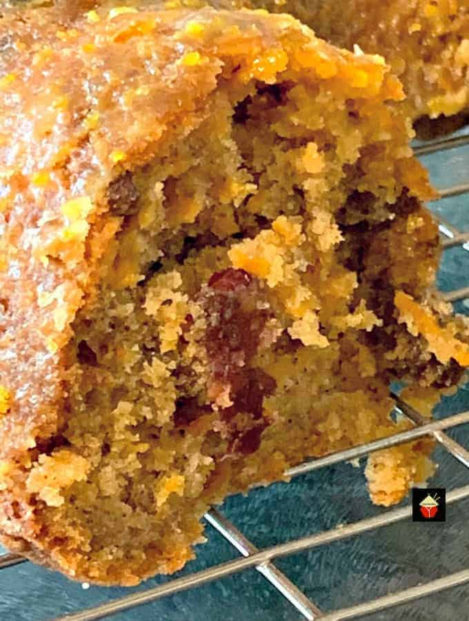 Easy Cranberry and Orange Carrot Cake5