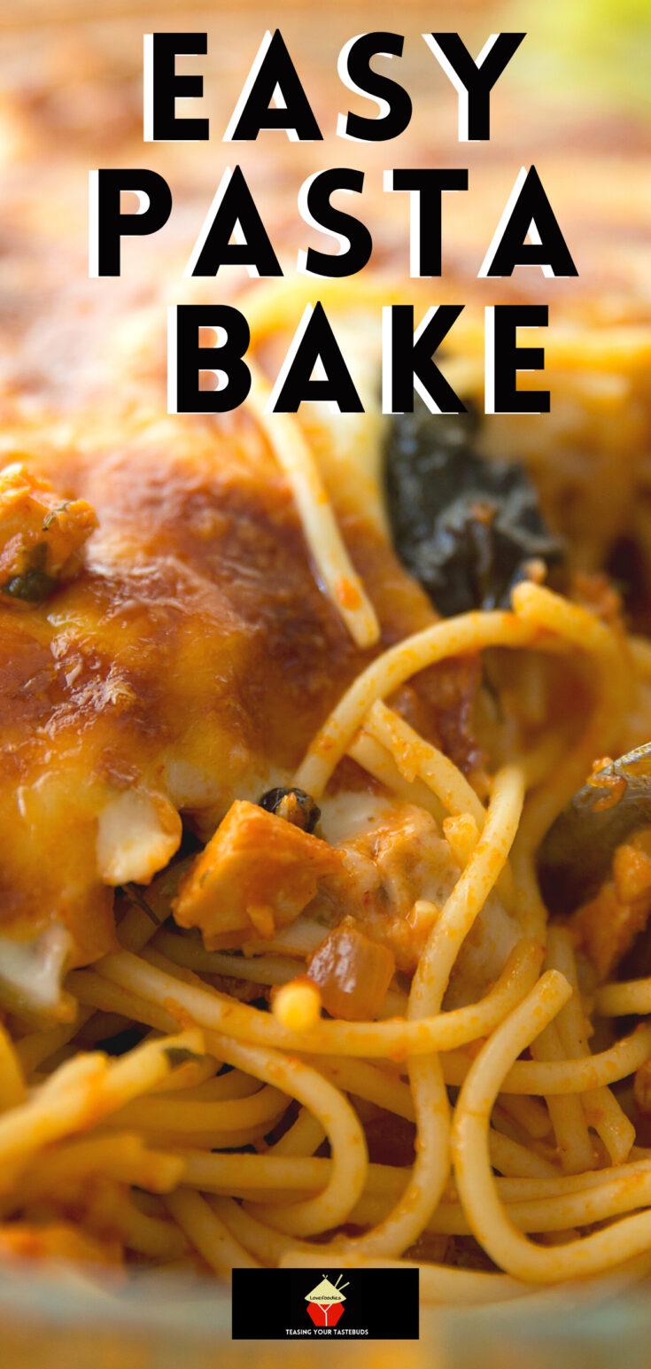 Easy Pasta BakeP1