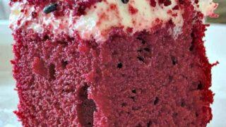 Easy Red Velvet Party Cake