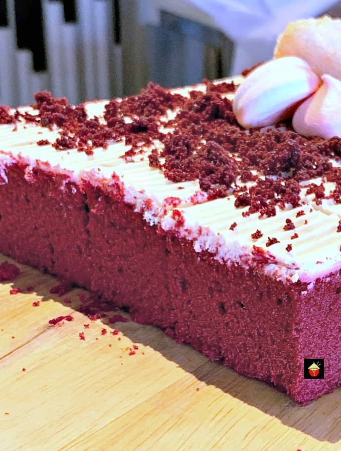 Easy Red Velvet Party Cake
