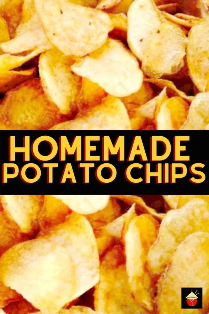 Home Made Potato ChipsH