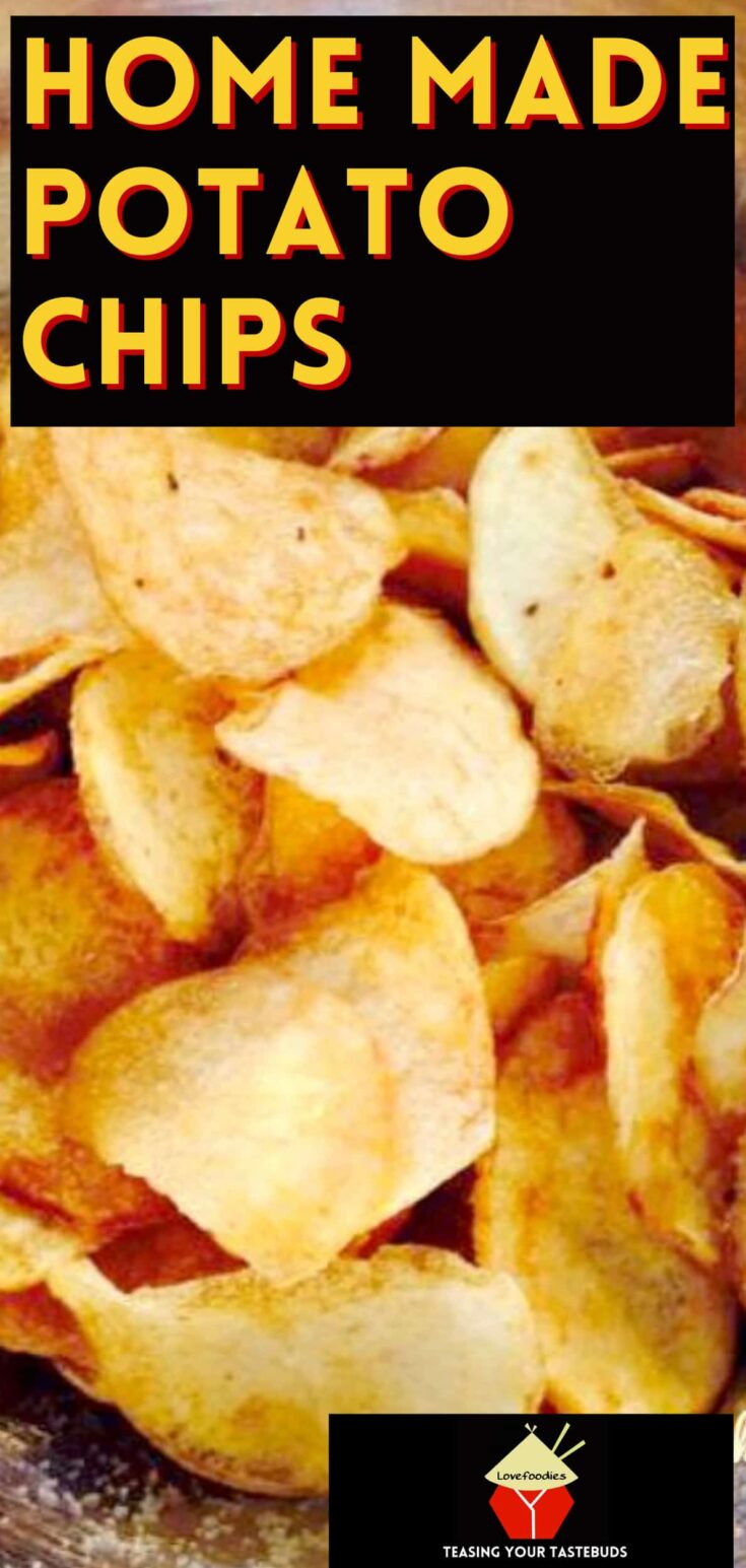 Home Made Potato ChipsP1