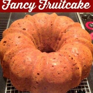 Nanny's Fancy Fruitcake is a keeper cake recipe, easy and delicious, perfect for the holidays.