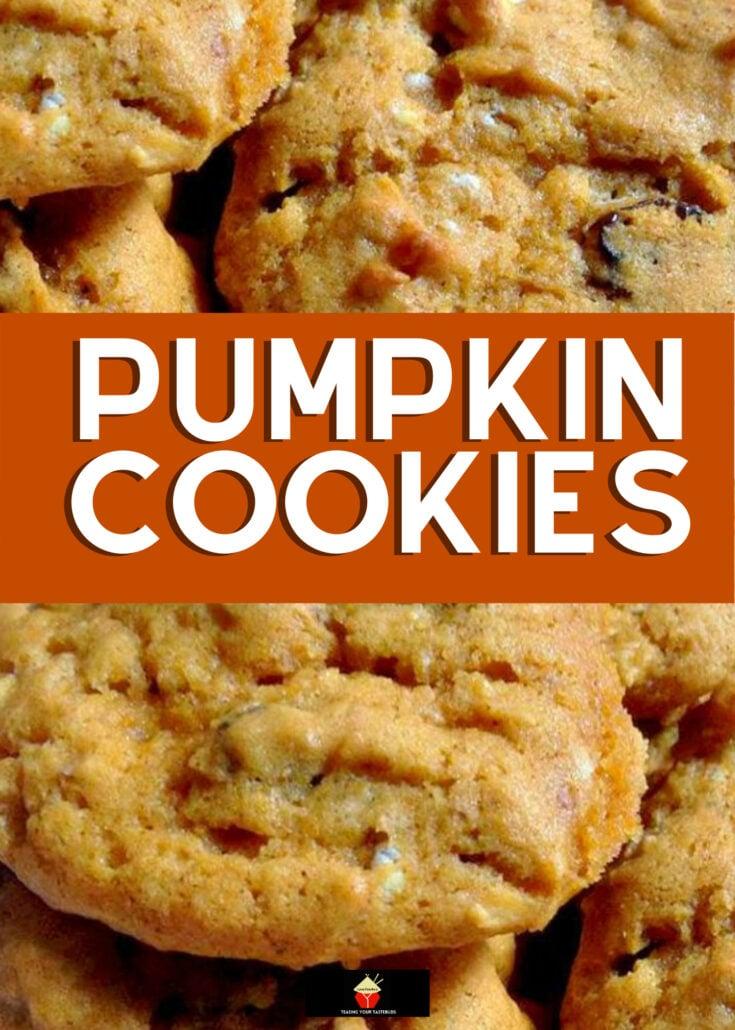 Pumpkin CookiesH