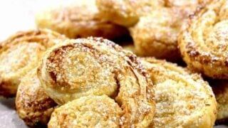 French Almond Palmier Cookies