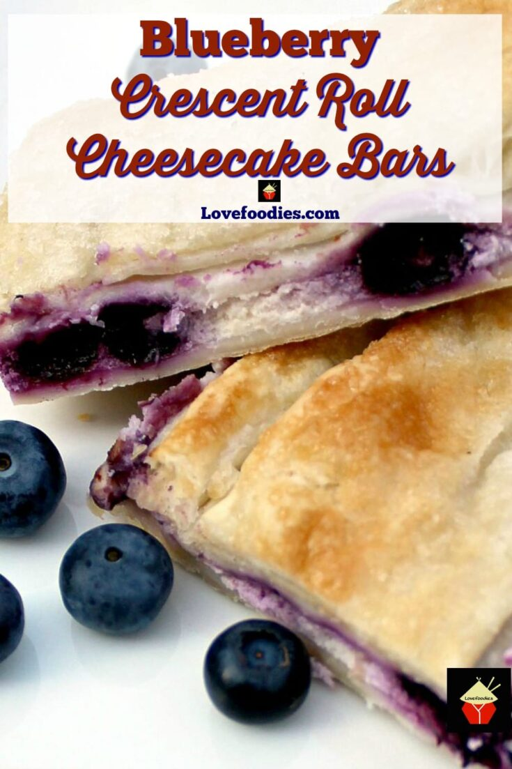 Blueberry Crescent Roll Cheesecake BarsP1 1