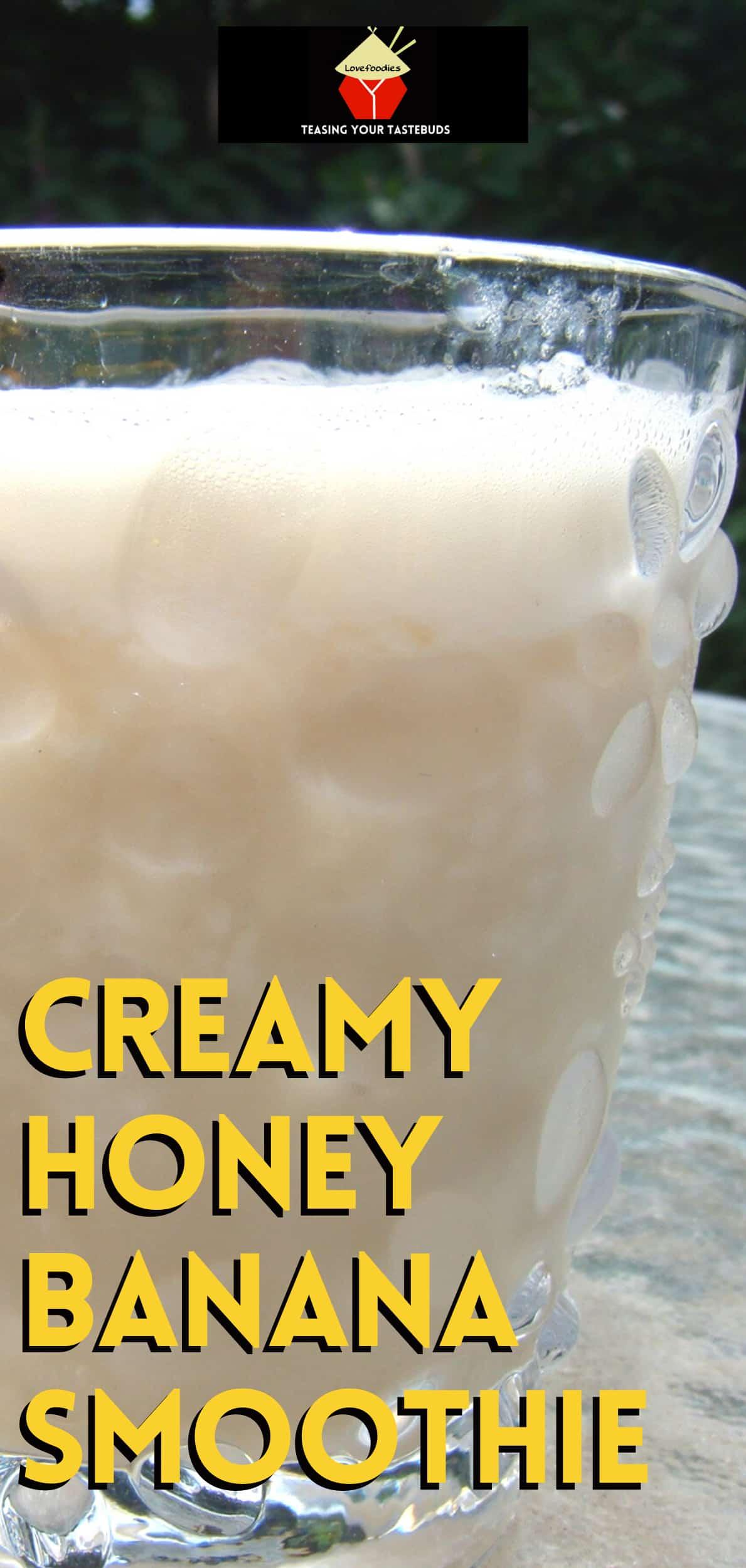 Creamy Honey Banana SmoothieP2