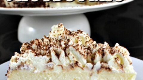 Creamy Tiramisu Cheesecake. This is a lovely baked dessert with the flavors of the classic Italian Tiramisu. If you like Tiramisu then you will enjoy this!