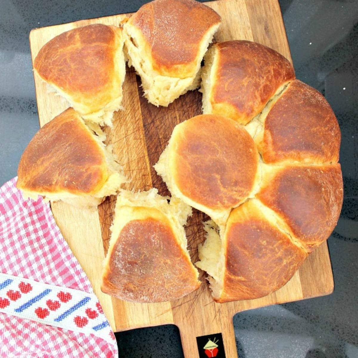 Orange Brioche BreadFeatured