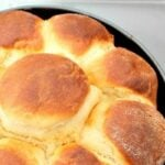 Orange Brioche bread, luxuriously soft and buttery, with a hint of orange throughout.Great for snacks, sandwiches, French Toast or to simply eat warm from the oven as they are.