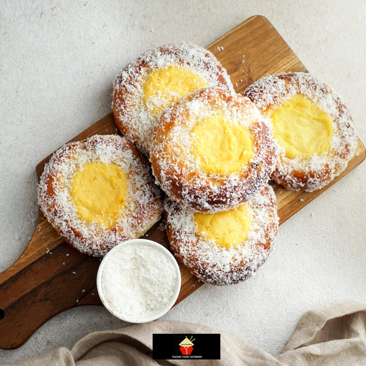 Custard Filled Buns. Light, fluffy, soft, vanilla custard filled buns. Eat these sweet bread buns warm or cold, I like them just from the oven! Freezer friendly too