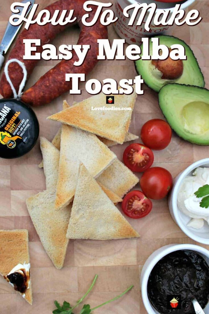 How To Make Easy Melba Toast P1