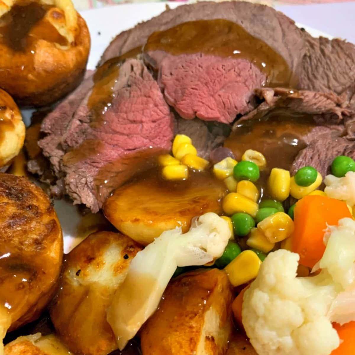 Roast Beef DinnerF