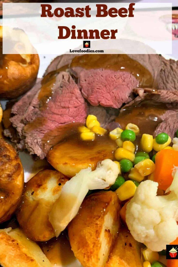Roast Beef DinnerPA