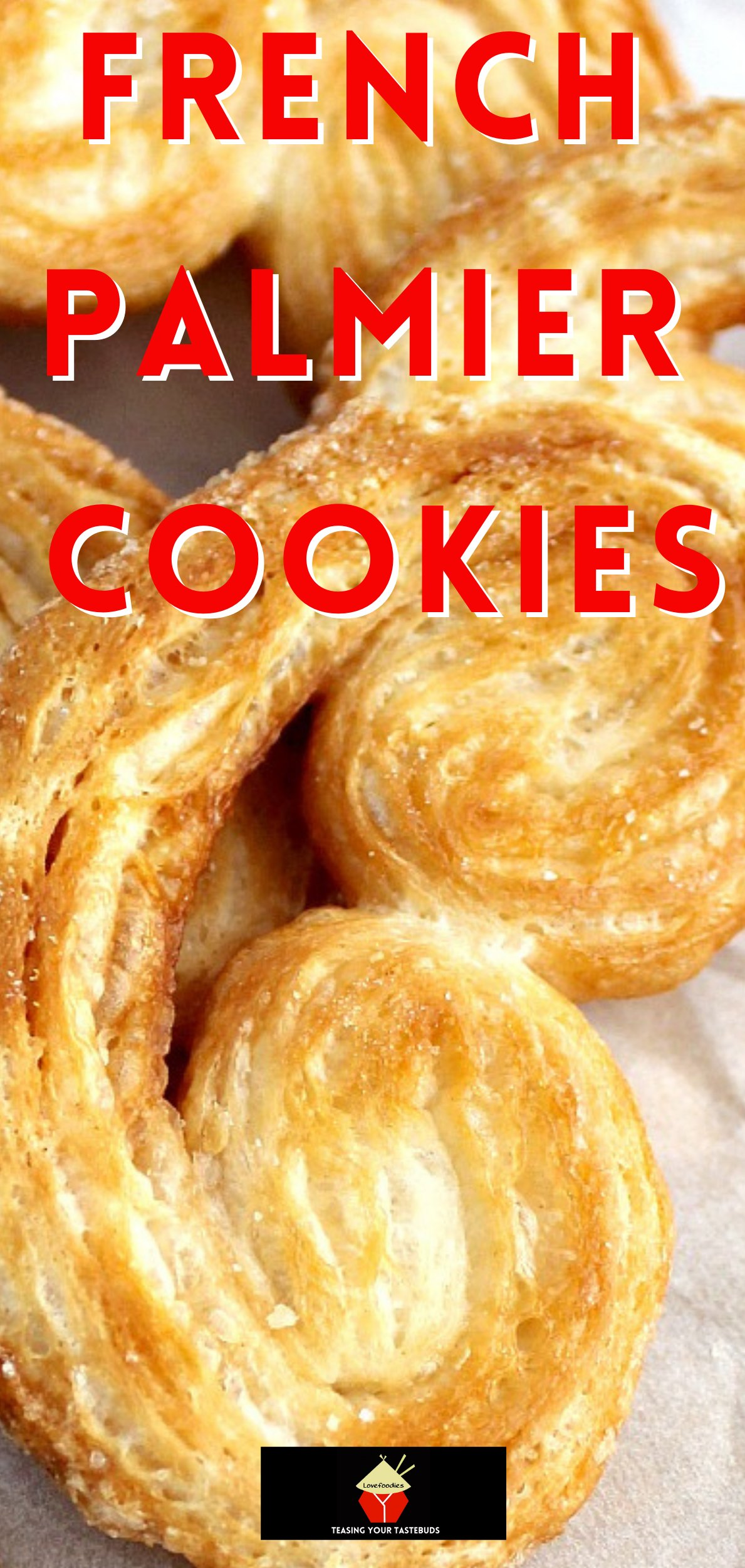 French Palmier CookiesP2